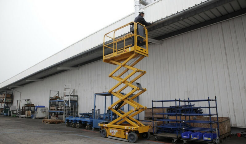 OPTIMUM 8 - HAULOTTE SCISSOR LIFT - International Group for