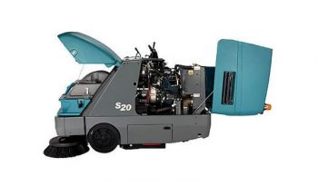 S20 – TENNANT Compact Mid-Size Rider Sweeper full