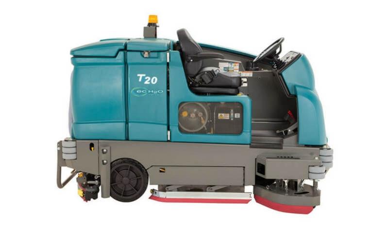 T20 Tennant Industrial Ride On Floor Scrubber Dryer