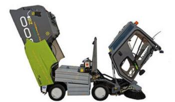 500ze Green Machines Electrical Street Sweeper full